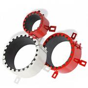 Fire-resistant couplings and cuffs, in stock from the manufacturer