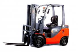 In the presence of a NEW forklift electric forklift GOODSENSE (1.5 t)