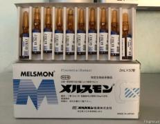 Placental preparations Laennec and Melsmon (Melsmon), Japan