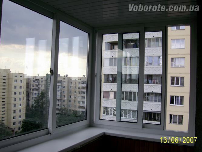 Раздвижные окна для балконов, веранд, беседок в киеве (раздв.
