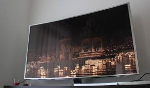 "Samsung JS9500 Series 65 ""-Class 4K SUHD Smart 3D Curved LED TV"