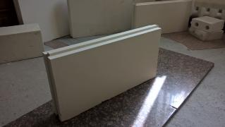 We manufacture and sell tongue-and-groove gypsum boards